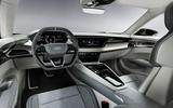 Audi E-tron GT concept official reveal - cabin interior
