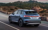 97 Audi Q4 etron 2021 official reveal tracking rear