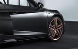 Audi R8 V10 Decennium official press images - alloy wheels