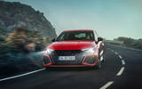 97 Audi RS3 2021 official reveal hatch nose