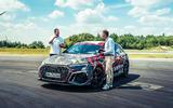 97 Audi RS3 2021 prototype ride interview