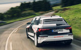 Audi S3 2020 prototype drive - hero rear