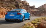 Audi TT RS 2019 facelift - official press images - hero rear