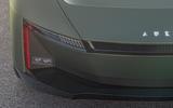 97 Aura electric speedster concept 2021 reveal headlights