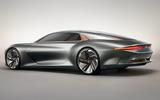 Bentley EXP 100 GT Concept official images - hero rear