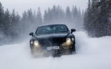 Bentley Flying Spur 2020 development ride - snowstorm