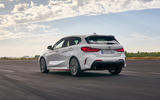 BMW 1 Series 128ti official reveal - tracking rear