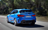 BMW 1 Series 2019 official reveal - hero rear