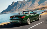 2021 BMW 4 Series Convertible official images - tracking rear
