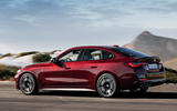 97 BMW 4 Series Gran coupe 2021 official reveal images hero rear