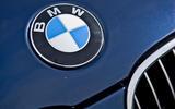 BMW 5 Series E60 road test rewind - bonnet badge