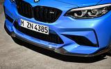 BMW CS 2020 official press images - front splitter