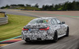 2020 BMW M3 prototype first drive - hero rear