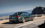 97 BMW M5 CS 2021 official reveal hero rear