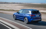 97 BMW X3 M 2021 LCI official images hero rear