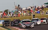 97 btcc 2021 snetterton grid