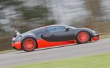 97 fastest cars tested by Autocar Bugatti Veyron supersport