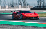 Ferrari P80/C 2019 reveal official pictures - track driving front