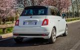 97 Fiat 500 Hey Google 500 tracking rear