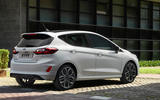 97 Ford Fiesta 2021 refresh ST Line static rear