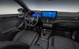 97 Ford Focus 2021 refresh official images ST line interior