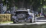 97 Ford Puma Rally1 WRC Goodwood 2021 rear end