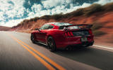 Ford Shelby Mustang GT500 official reveal - hero rear