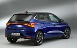 Hyundai i20 2020 studio images - hero rear