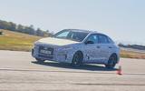 2021 Hyundai i30 Fastback N prototype drive - cornering right