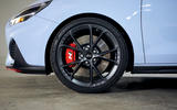 Hyundai i30 N 2020 facelift official images - alloy wheels