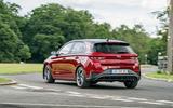 2020 Hyundai i30 N-Line prototype drive review - hero rear