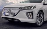Hyundai Ioniq 2019 facelift official press - front end