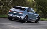 97 Hyundai Ioniq 5 proto drive 2021 hero rear