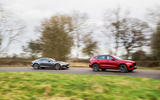 Jaguar Land Rover Cross Country - tracking side