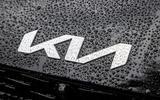 97 Kia EV6 prototype drive 2021 nose