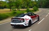 99 Kia Stinger GT420 racer - hero rear