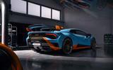 Lamborghini Huracan STO 2020 official images - rear