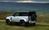 Land Rover Defender 90 MY2021 - tracking side