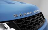 97 Land Rover Range Rover Sport SVR Ultimate official images nose badge