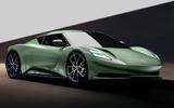 97 lotus 2+2 EV render imagined by Autocar