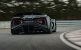 97 Lotus Evija 2021 track drive hero rear