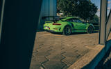 Visiting Manthey racing - GT3 RS MR static rear