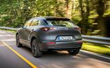 Mazda e-TPV prototype 2019 first drive review - hero rear