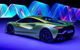 97 McLaren Artura 2021 Autocar images studio rear edit