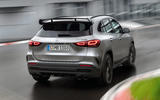 Mercedes-AMG GLA 45 S 2020 official press images - hero rear