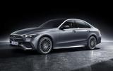 97 Mercedes Benz C Class 2021 official images studio static front