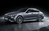 97 Mercedes Benz C Class 2021 official images studio static front