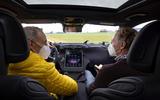 97 Mercedes Benz C Class 2021 prototype ride talking