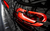 97 Mercedes Benz EQA 2021 prototype drive rear lights