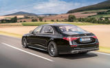 2021 Mercedes-Benz S-Class official reveal images - tracking rear